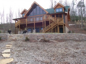 Watts Bar Model Log Home