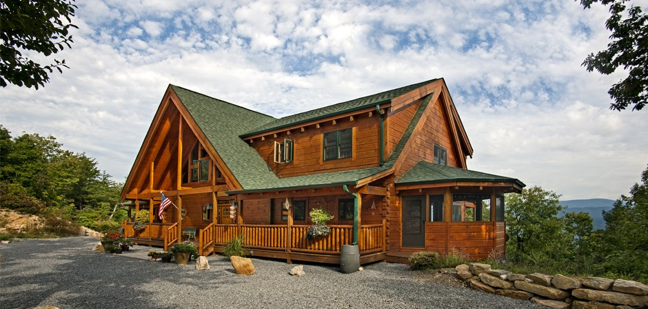 Sparks Construction Custom Log Home Builder With 35